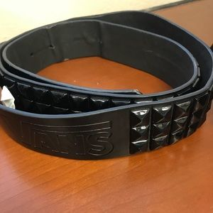 VANS Black Studded Belt